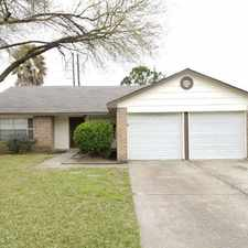 Rental info for 13411 White Cliff Drive in the Houston area
