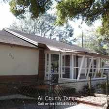 Rental info for 208 West Kirby St in the Tampa area