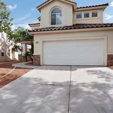Rental info for 7885 Excel Ln in the Las Vegas area