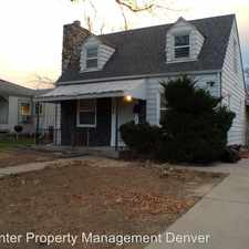 Rental info for 1775 W Beekman Pl in the Chaffee Park area