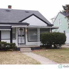 Rental info for Newly Renovated Home with Great Family Room in Basement in the Detroit area