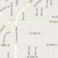 Rental info for 1/2 W 43rd Pl, Los Angeles, CA 90008 in the Los Angeles area