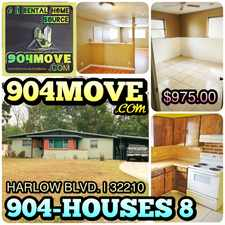 Rental info for 4336 Harlow Boulevard in the Jacksonville area