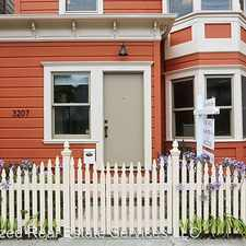Rental info for 3207 Hannah St in the Oakland area