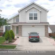Rental info for 4145 Foothills Drive