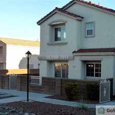 Rental info for BEAUTIFUL 3 BR 2.5 BA HOUSE FOR RENT IN NLV in the Las Vegas area