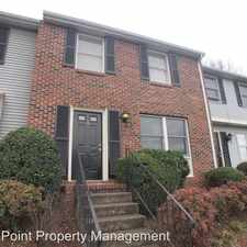 Rental info for 9456 Lexington Circle in the Charlotte area