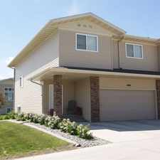 Rental info for Stonebridge Townhomes in the Minot area