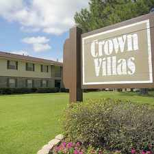 Rental info for Crown Villas Apartments