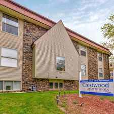 Rental info for Crestwood Apartments