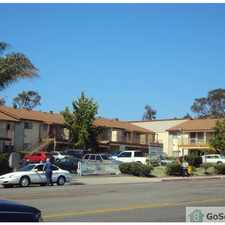 Rental info for ALL ONE-BEDROOM UNITS IN A GARDEN SETTING. PRIVATE COVERED PATIOS OR BALCONIES. QUIET RESIDENTIAL LOCATION AND SECURED SITE. LAUNDRY FACILITIES ON SITE. CLOSE TO MARKETS,TROLLEY,& BUS STOPS. SECTION 8 OK. in the 92173 area