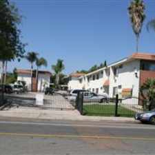 Rental info for LARGE UPSTAIRS UNIT. Gated parking lot. Peaceful Quiet neighborhood. Dishwasher, Refrigerator, Stove/Oven and Air Conditioner included in rent. Community BBQ area. ON SITE LAUNDRY ROOM. in the San Diego area