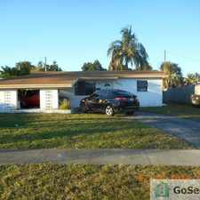 Rental info for great house...close to everything. won't last in the Lauderdale Lakes area