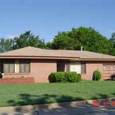 Rental info for 3BR, 1.5 Bath, 2 car garage, fenced backyard. Tile Floors (Living/Dining) Western Heights Schools, close to Lake Overholser and parks, Text/email for application in the Oklahoma City area