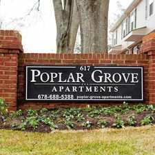 Rental info for WELCOME TO POPLAR GROVE APARTMENTS IN GRIFFIN, GEORGIA!