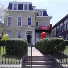 Rental info for Do you love Historic Old Buildings? The Baurman House & The Carraige House in the rear and adjoining St Patrick's Apartments are beautiful old buildings that are listed on the National Register of Historic Places. Offering 2 Bedrooms in the Louisville-Jefferson area