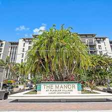 Rental info for The Manor At Flagler Village in the Flagler Heights area