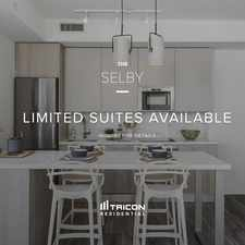 Rental info for The Selby in the Rosedale-Moore Park area