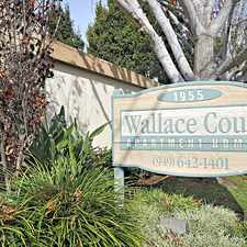 Rental info for Wallace Court in the Westside Costa Mesa area