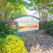 Rental info for Highpointe Apartments in the Homewood area