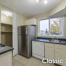 Rental info for Suncourt Place: 16186 121 St. NW, 3 Bedrooms in the Dunluce area