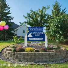 Rental info for 4075 Lancaster Ln #6 in the Plymouth area