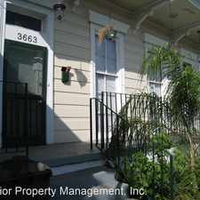 Rental info for 3661-3663 Annunciation Street in the East Riverside area