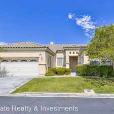 Rental info for 3282 SQUIRE ST in the Summerlin South area