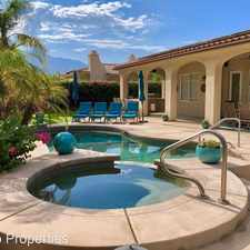 Rental info for 69748 Camino Pacifico in the 92234 area
