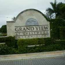 Rental info for 1300 Crestwood Court South #1316 in the Royal Palm Beach area