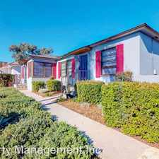 Rental info for 1210-1220 30th St/2982-2994 B St in the 92102 area