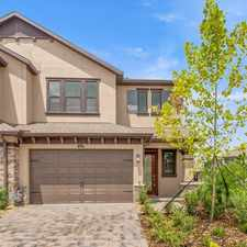 Rental info for Come Rent this BRAND NEW 2 Car Garage Townhome in Estancia with loads of upgrades! in the Wesley Chapel area