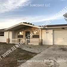 Rental info for 4655 Koala Dr in the Holiday area