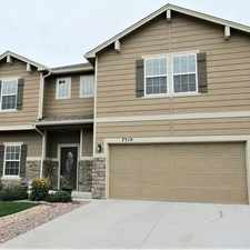 Rental info for 7309 Thorn Brush Way, Colorado Springs, CO 80923, USA in the Ridgeview area