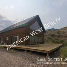 Rental info for 121 Whit Creek Rd