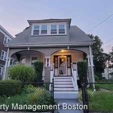 Rental info for 297 Fuller Street in the Southern Mattapan area