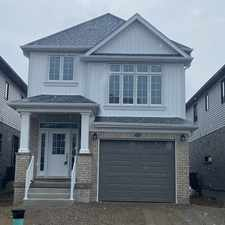 Rental info for Brand new 3+1 Bedroom Detached available Immdeiately in the Kitchener area