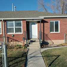 Rental info for 1011 East 1700 South