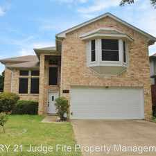 Rental info for 2124 Newport Drive in the Flower Mound area