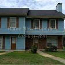 Rental info for Awesome Townhome in Conyers!