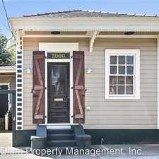 Rental info for 3060 Royal Street in the St. Claude area