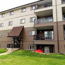 Rental info for #306 4003 26 Avenue Northwest in the Bisset area
