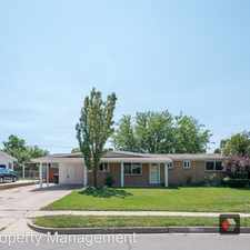 Rental info for 297 West 1350 North in the Bountiful area