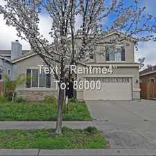 Rental info for 4/3 home in Roseville! 296 Bettencourt Drive in the Highland Reserve area