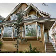 Rental info for 786 East 15th Avenue in the Mount Pleasant area