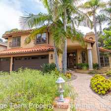 Rental info for 12885 Chaparral Ridge Road in the North City area