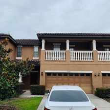 Rental info for Townhome in Gated Community of La Fortuna, Kissimmee in the Kissimmee area