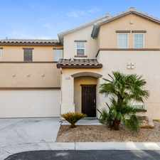 Rental info for 9760 Comstock Stake Court Las Vegas Nv in the Paradise area