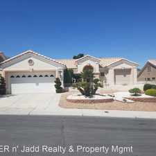 Rental info for 10604 BACK PLAINS DRIVE in the Sun City Summerlin area
