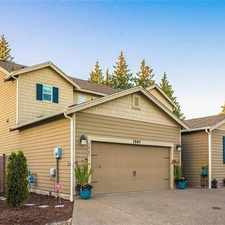 Rental info for 1907 184th Street Court East, Spanaway, WA, 98387 in the Spanaway area
